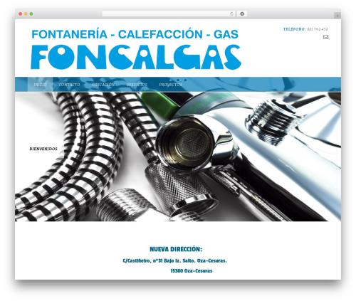 Panoramic WordPress theme - foncalgas.net