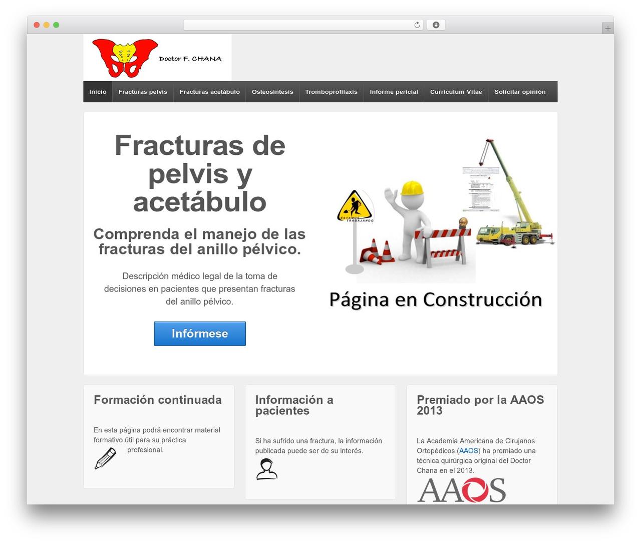 Responsive WordPress template free download - fracturapelvis.es