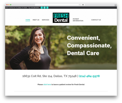 Free WordPress WP Accessibility plugin - freshdentaltoday.com