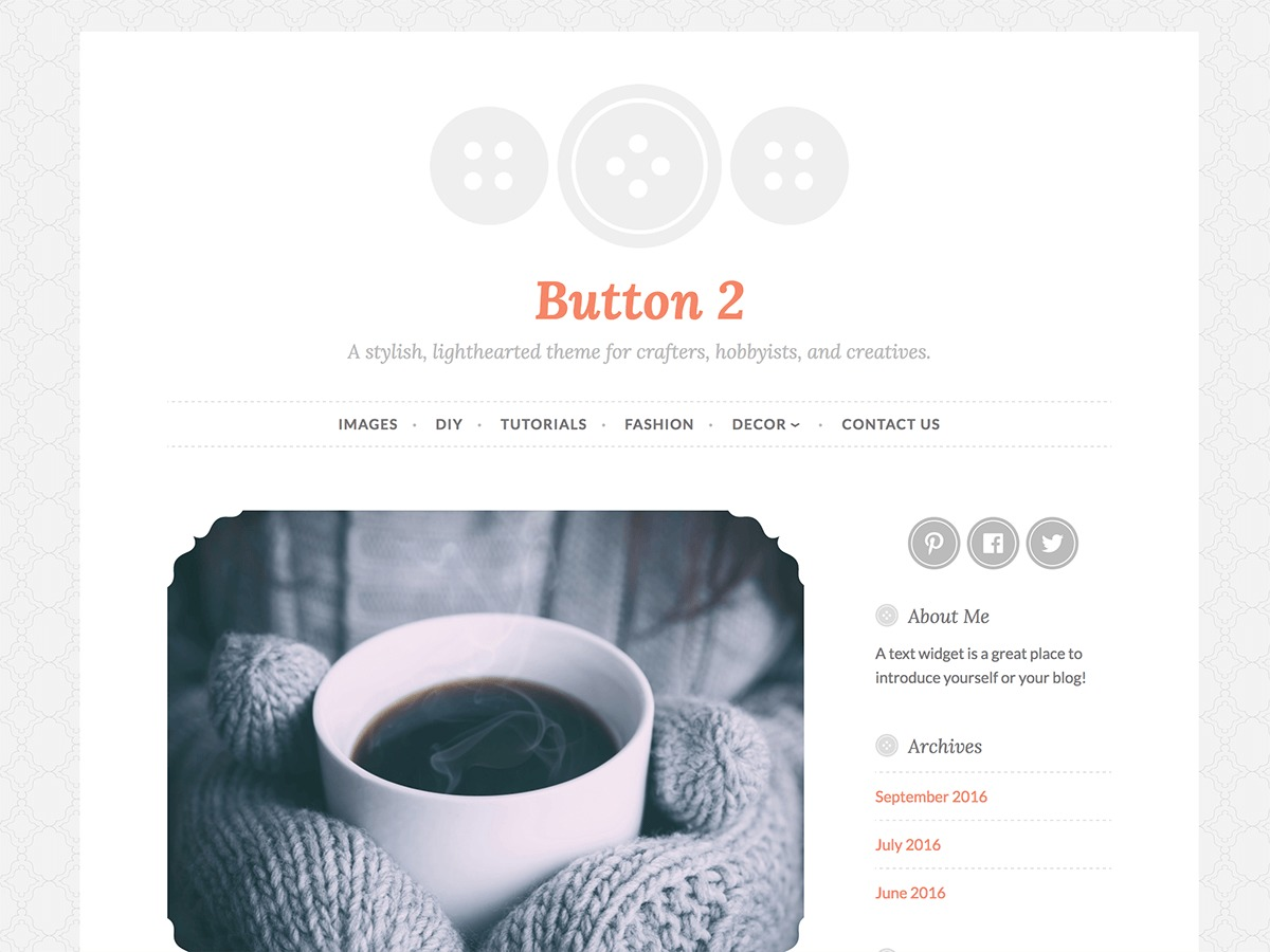 Theme WordPress Button 2