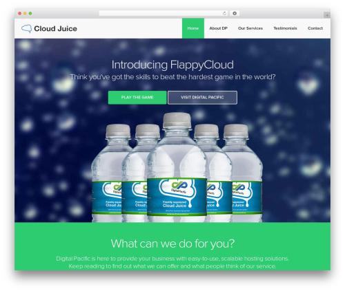 Theme WordPress Landlr - freshcloudjuice.com