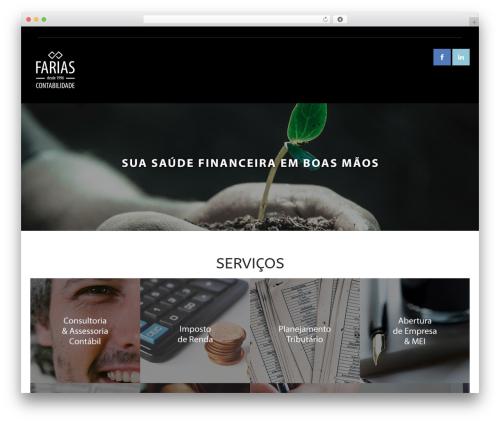 Versatile WordPress theme - fariascontabilidade.com.br