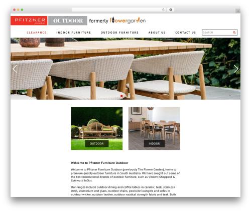 WordPress template Archi - flowergarden.com.au