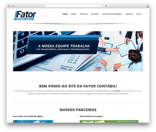 WordPress theme Sparse - fatorcontabilonline.com.br