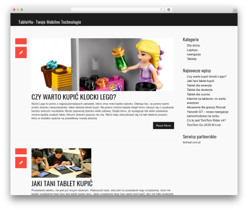 WP template Vision - tablet4u.pl