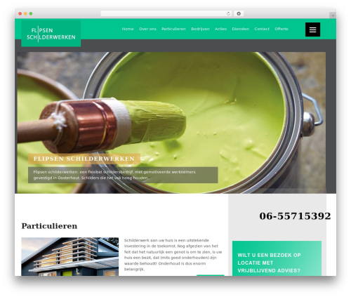 Xerxes WordPress template - flipsen-schilderwerken.nl