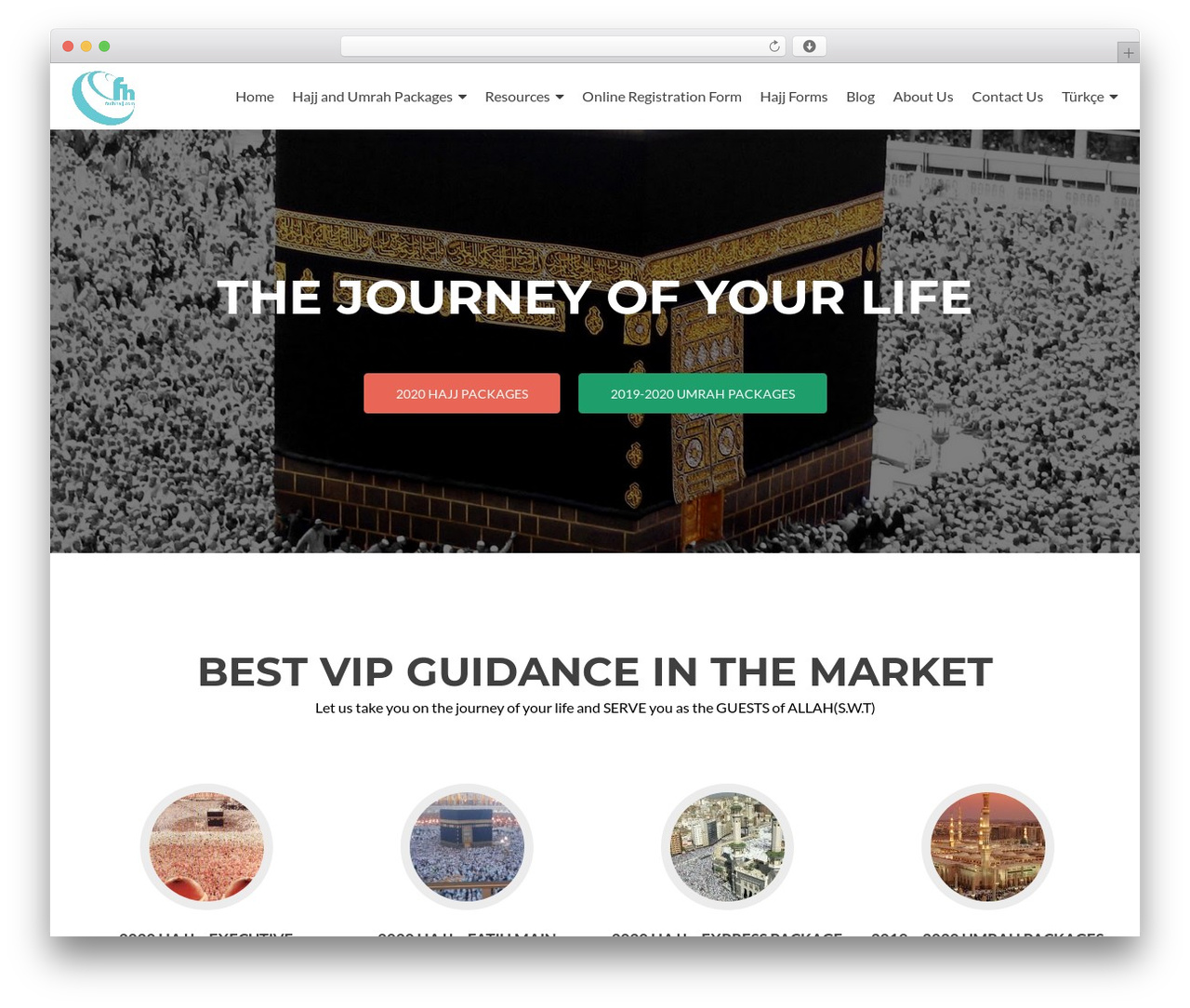 Zerif Lite template WordPress - fatihhajj.com