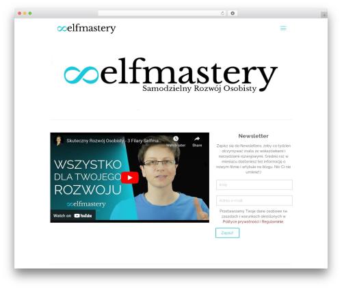 Betheme best WordPress video theme - selfmastery.pl