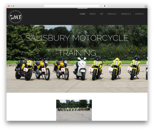 Formation best free WordPress theme - salisburymotorcycletraining.com