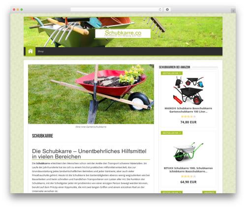 Sahifa best WordPress theme - schubkarre.co