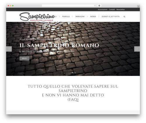 Stockholm WordPress template - sampietrino.it