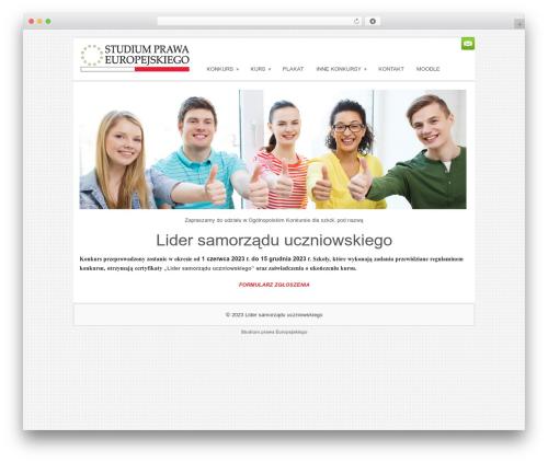 Theme WordPress Sofix - samorzad-uczniowski.com