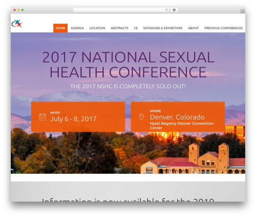 Tyler best WordPress template - sexualhealth2017.org