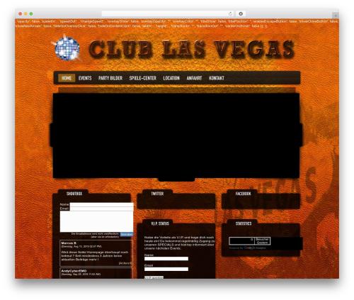 WordPress theme Dance Floor - las-vegas-rof.de