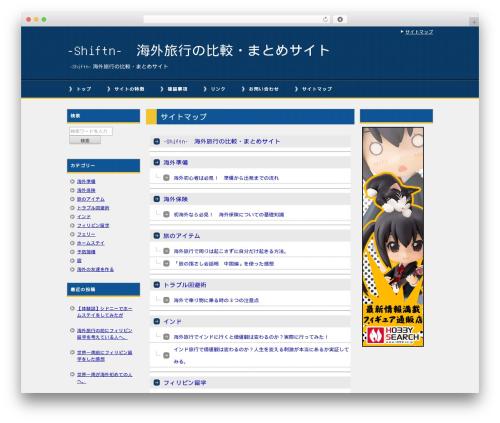 Free WordPress PS Auto Sitemap plugin - shiftn.info