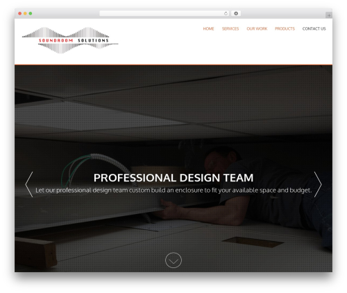 AccessPress Parallax free WP theme - soundroomsolutions.com