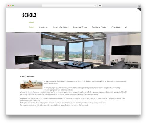 Avada theme WordPress - scholz.gr