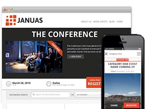 Best WordPress template Januas Child Theme
