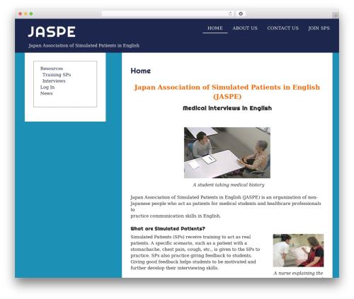 eyesite free WordPress theme - sp-english.org