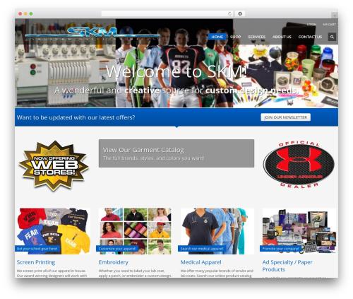 WordPress tshirtecommerce plugin - saginawkm.com