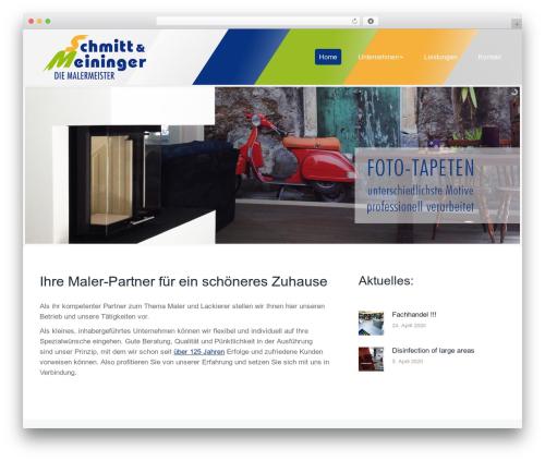 The7 WordPress theme - schmitt-meininger.com