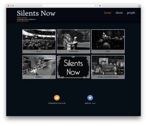 Ultra WordPress page template - silents-now.co.uk