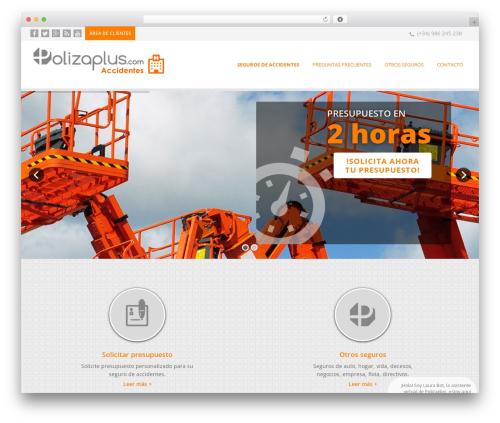 WordPress theme EXCEPTION - seguroconvenioplus.com