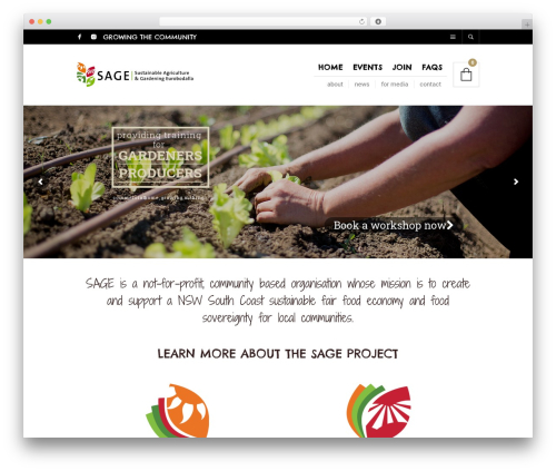 The Retailer WordPress theme - sageproject.org.au