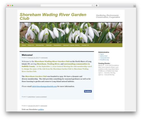twentyten-child WordPress theme - shorehamgardenclub.com