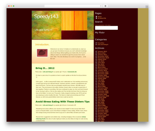 WordPress template autumn - speedy143.com