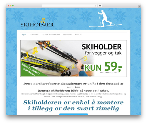 WP template Headway Base - skiholder.no