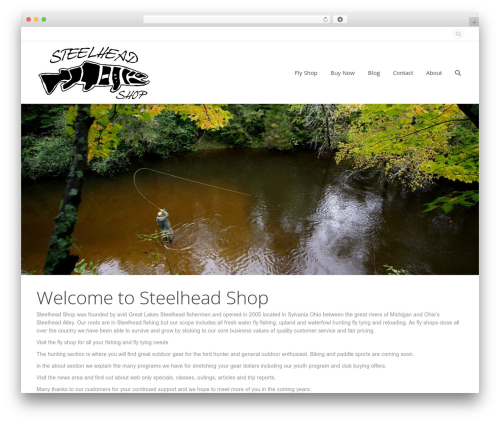 The7 WordPress template - steelheadshop.com