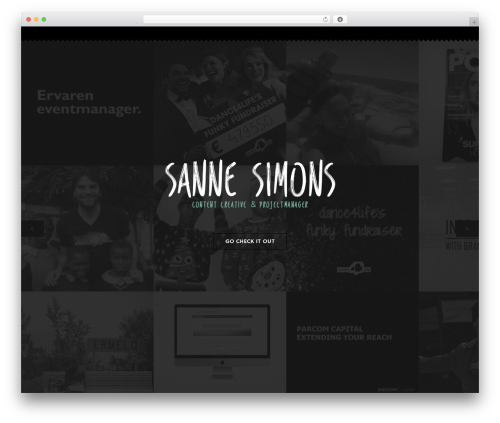 Theme WordPress Omni - sannesimons.com