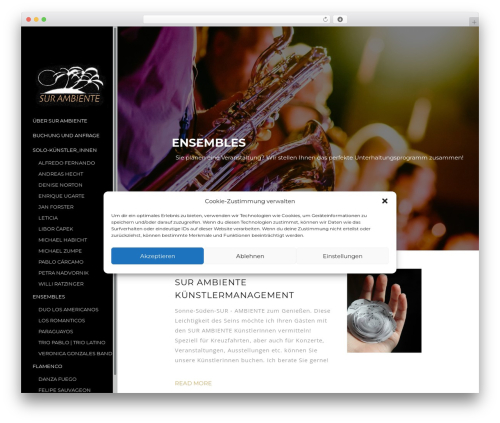 TheWest premium WordPress theme - surambiente.de