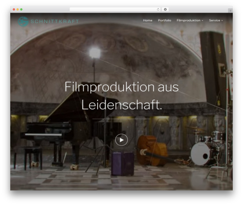 WordPress theme Inspiro - schnittkraft.de
