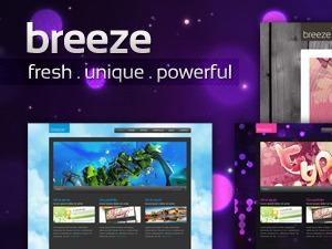 Breeze company WordPress theme
