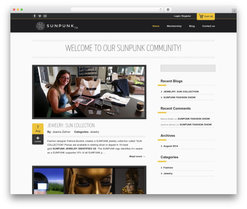 Emporium best WordPress theme - sunpunkunity.com