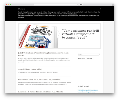 Fresh And Clean top WordPress theme - segretiwebmarketingimmobiliare.com