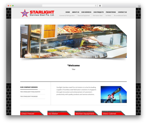 The Retailer template WordPress - starlightss.com.sg