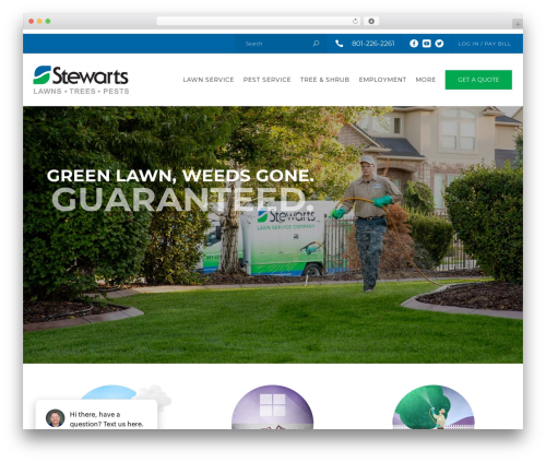 Theme WordPress Recycle - stewartslawn.com