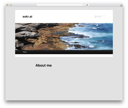 Twenty Eleven theme WordPress - sokr.at