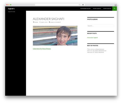 Free WordPress WP Family Tree plugin - saghafi.com