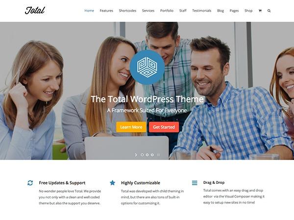 Template WordPress Total Child