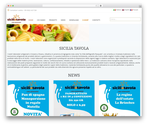 Twenty Thirteen theme WordPress free - siciliatavola.it