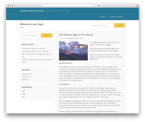 Wordpost template WordPress free - stanstedairportinformation.com
