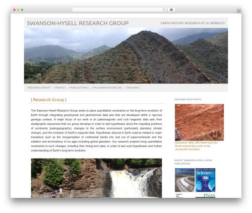 WordPress template picolight - swanson-hysell.org