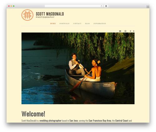 base newspaper WordPress theme - scottmacdonaldweddings.com