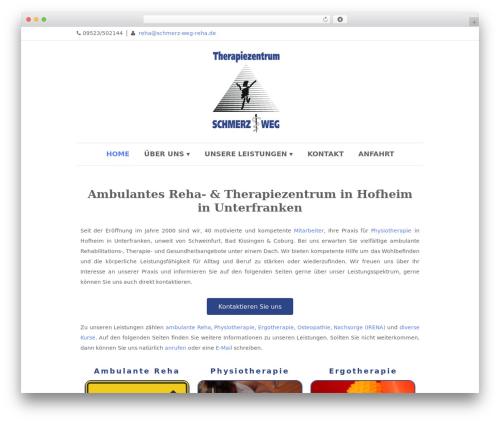 Best WordPress theme Dream Spa - schmerz-weg-reha.de