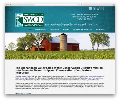 Template WordPress Striking MultiFlex & Ecommerce Responsive WordPress Theme - svswcd.org