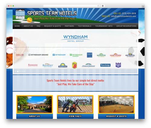 Winfield Theme WordPress gaming theme - sportsteamhotels.com